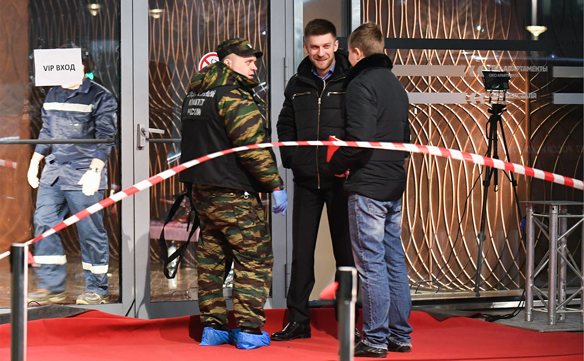 Хинштейн сообщил о похищении пистолета у бойца Росгвардии в «Москва-Сити»