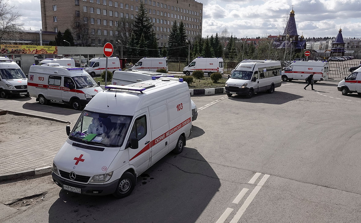 В России за сутки выявили 5849 новых случаев заражения коронавирусом
