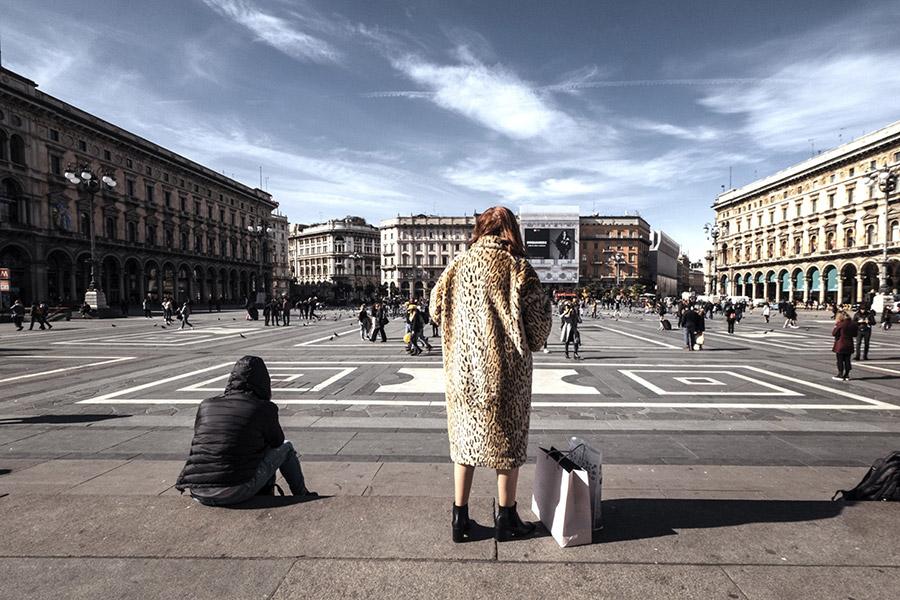 Улицы итальянских городов опустели из-за коронавируса. Фоторепортаж
