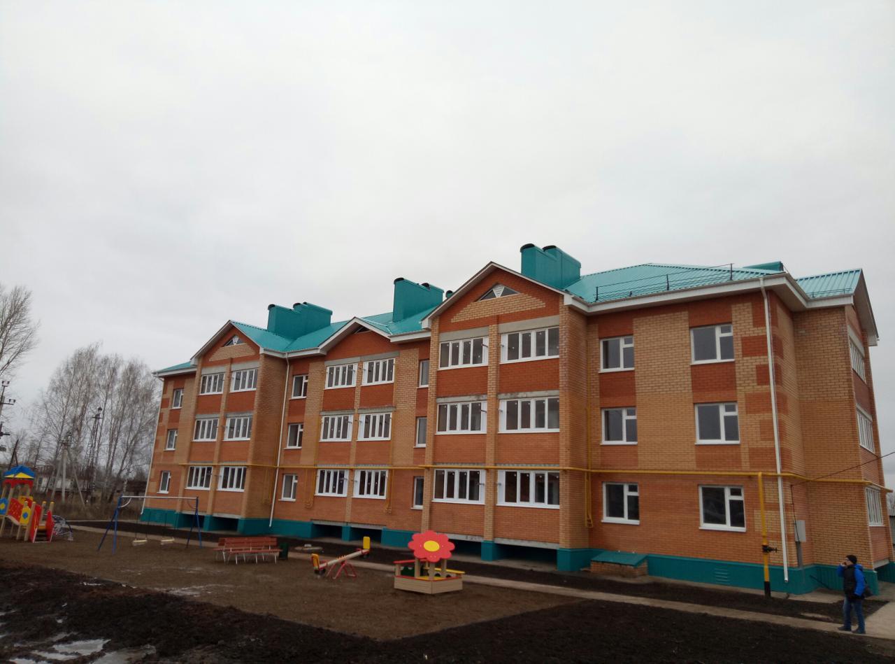 Госжилфонд передал 24-квартирный дом участникам госпрограмм в Аксубаево