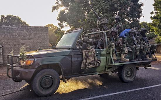 Сенегал ввел войска на территорию Гамбии