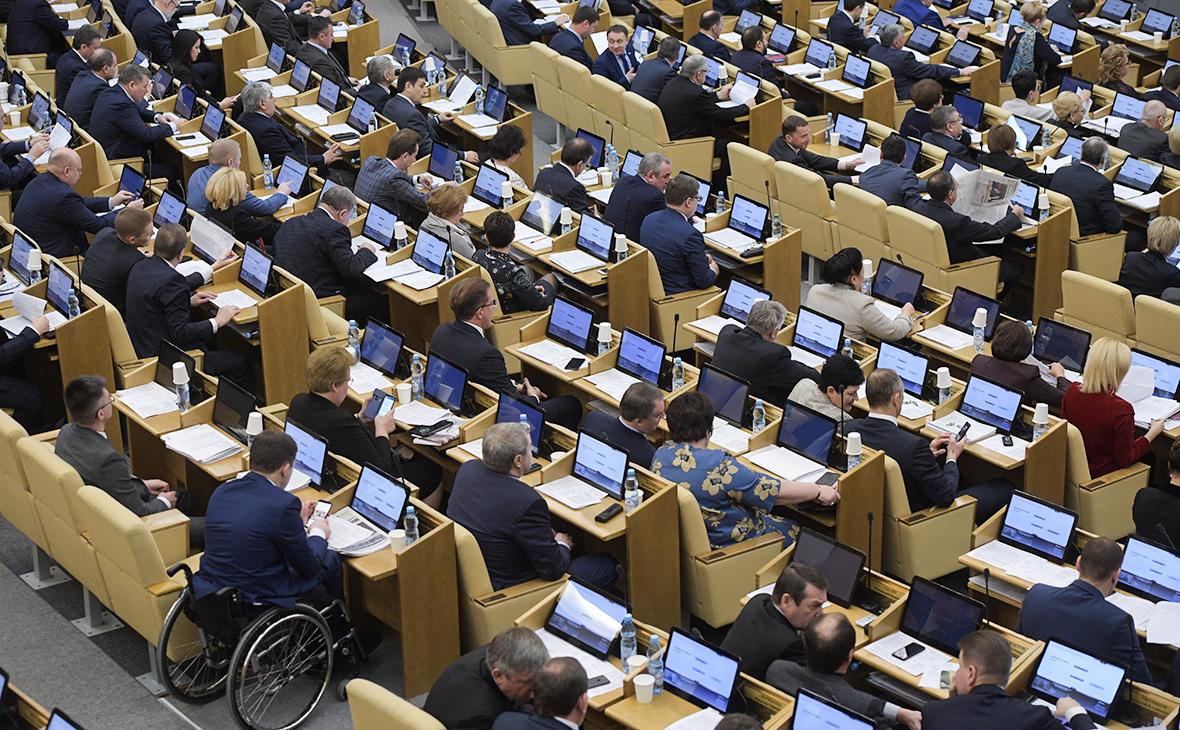 В Думе назвали закон о реинтеграции Донбасса желанием «обезлюдить земли»