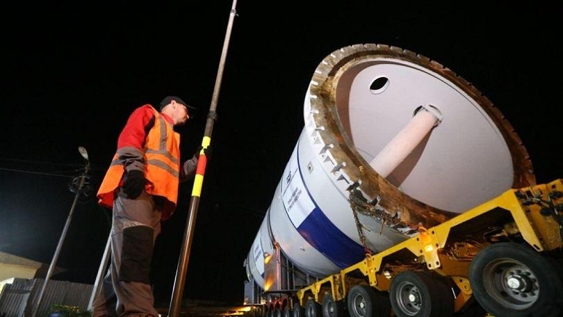 Автопоезд для «Северного потока-2» остановит движение в Прикамье