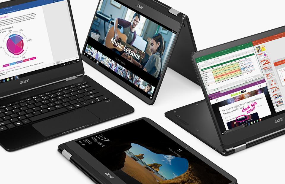 Легкость трансформации: обзор ноутбука Acer Spin 7