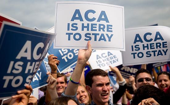 Сенат США проголосовал заначало отмены Obamacare