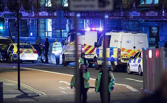 Полиция расценила инцидент на«Манчестер Арене» каквозможный теракт