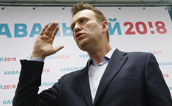 На Навального попытались напасть возлеего штаба вВолгограде