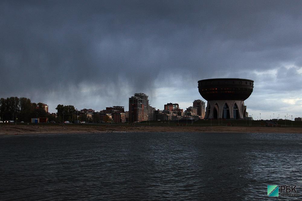 Синоптики сообщают об ухудшении погодных условий в Татарстане