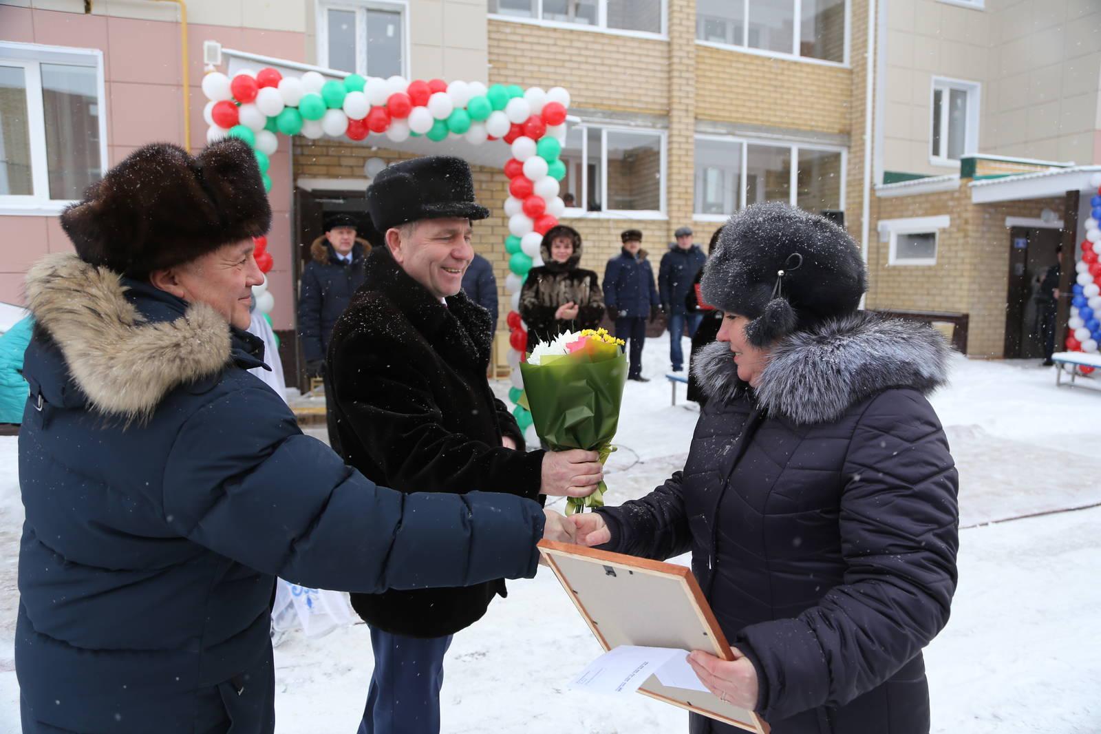 В Мамадышском районе 30 семей получили жилье благодаря Госжилфонду