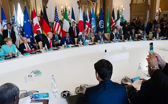 Reuters узнал оботсутствии согласия внутриG7 поРоссии