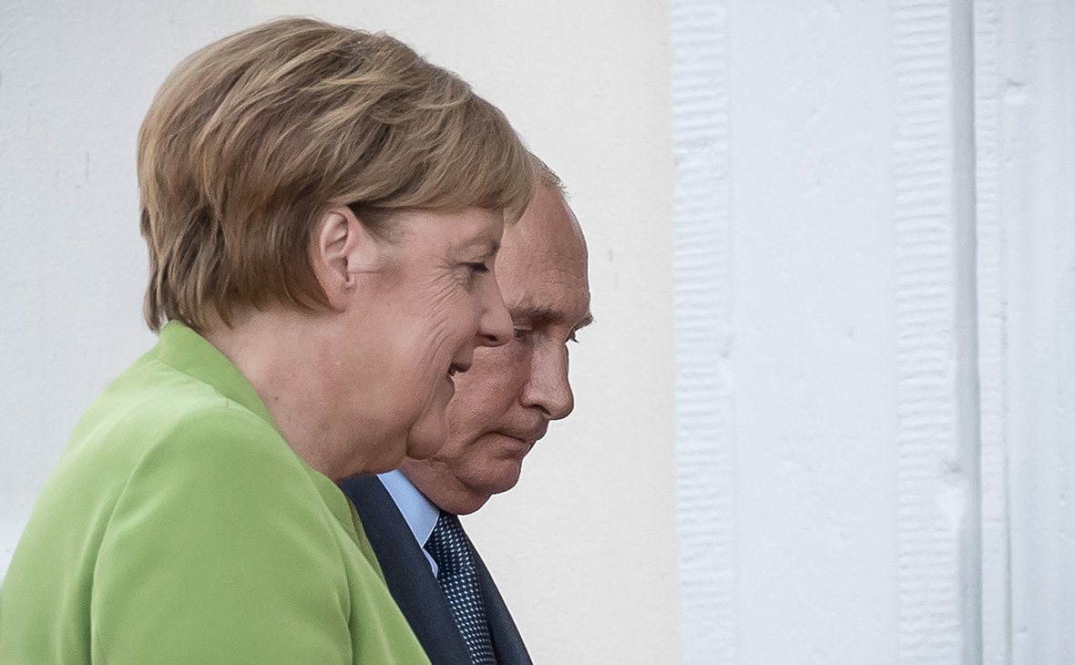 Переговоры Путина и Меркель длились три часа
