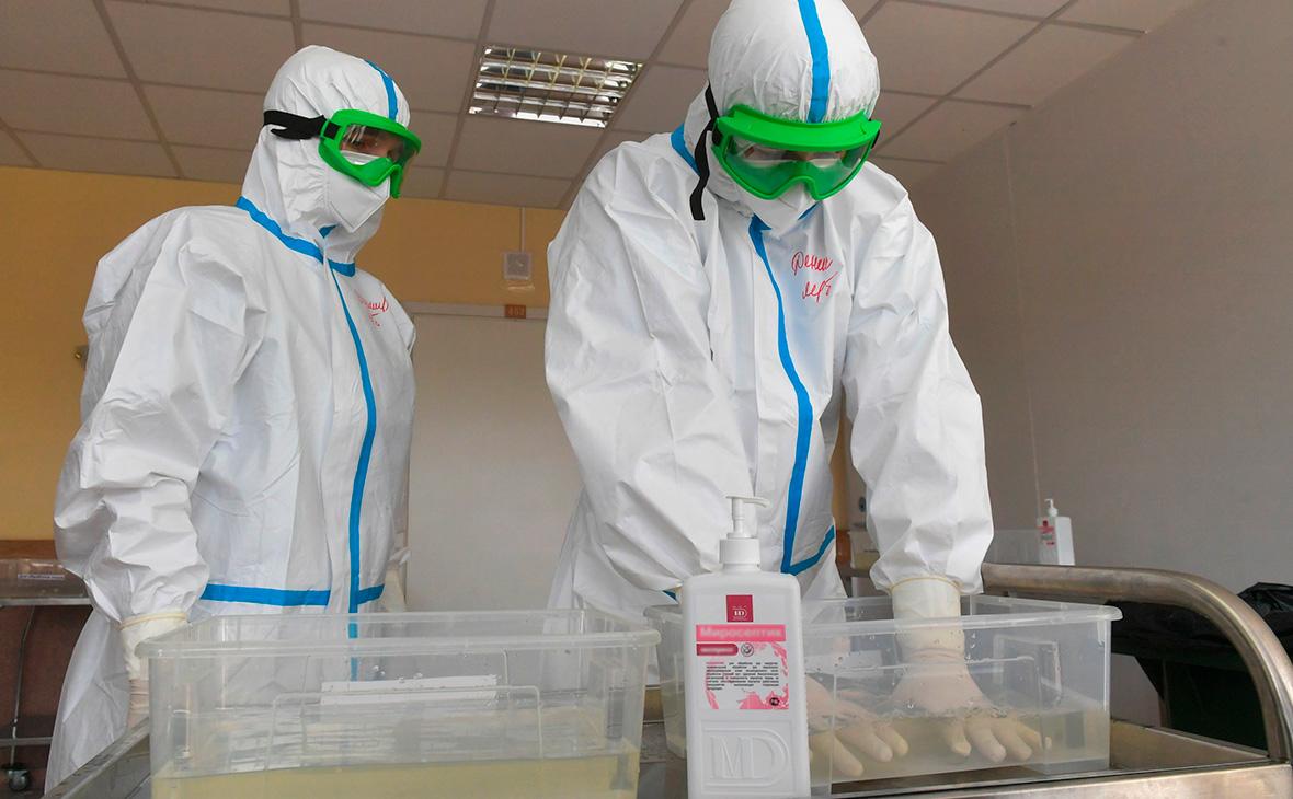 В Подмосковье выявили 45 новых случаев заражения коронавирусом