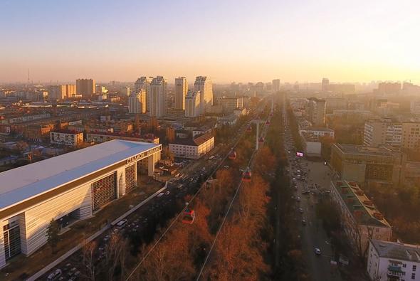 Проект «канатного метро» в Краснодаре презентовали на РИФ-2018