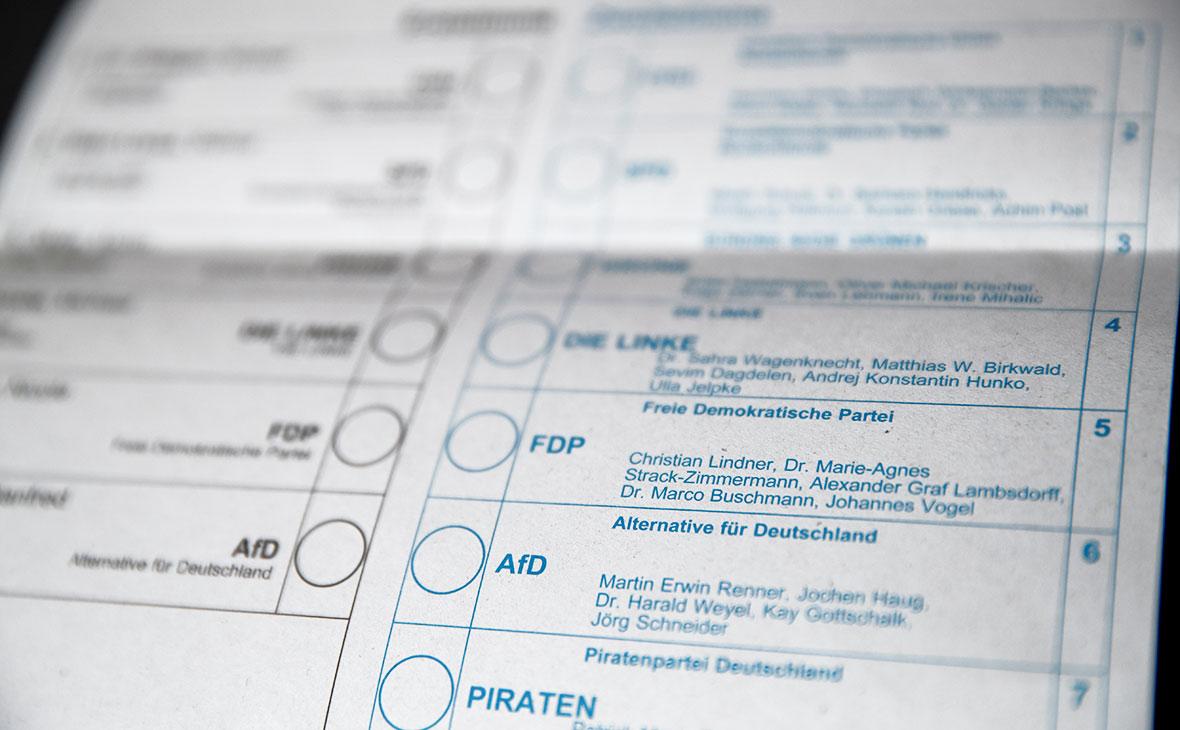 В Германии открылись избирательные участки для выборов в парламент