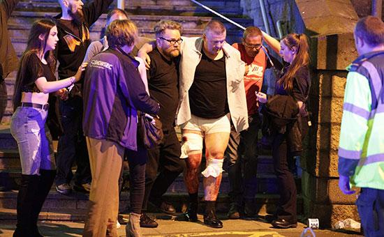 Полиция заявила о погибших и пострадавших на стадионе в Манчестере