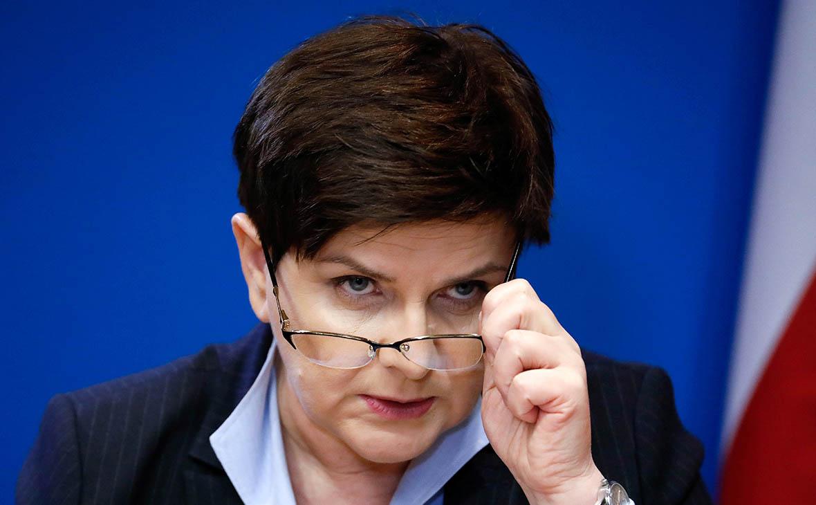 Премьер-министр Польши Беата Шидло ушла в отставку