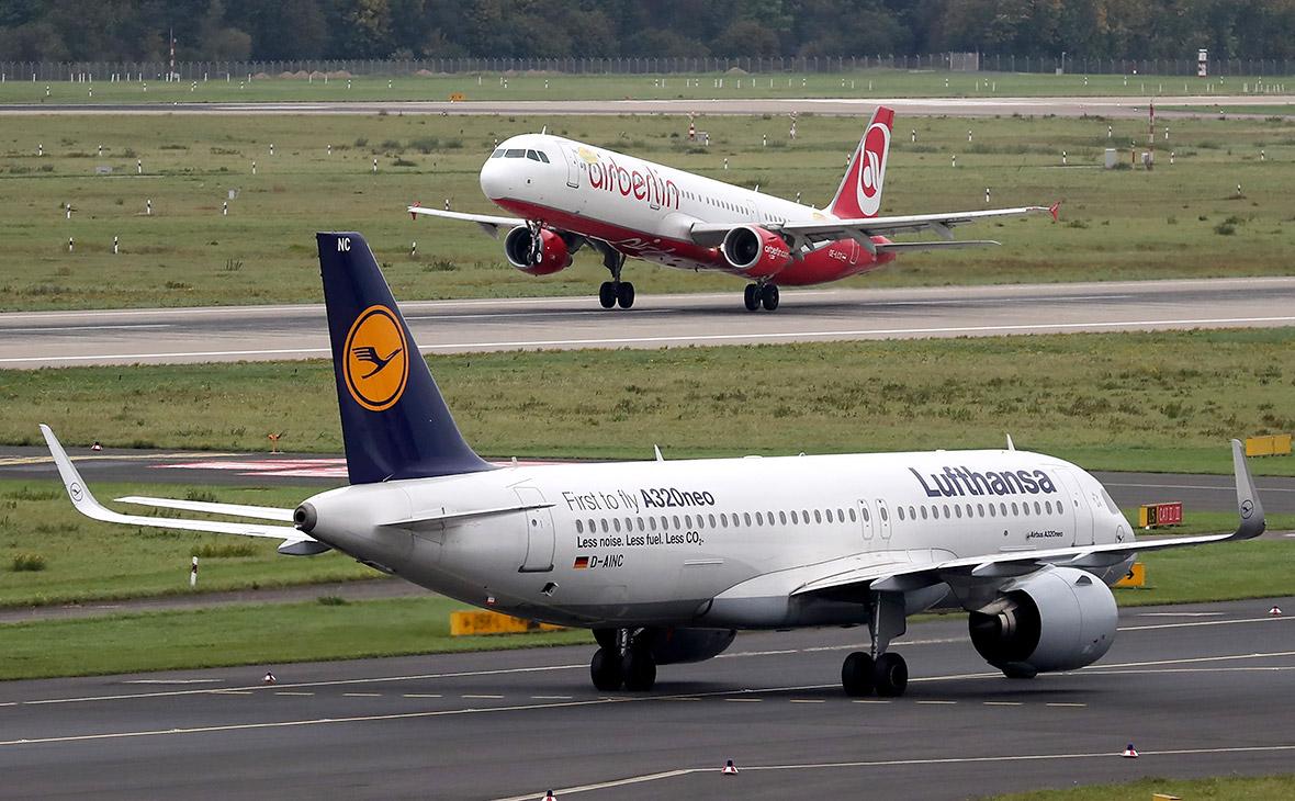 Lufthansa выкупила две «дочки» Air Berlin