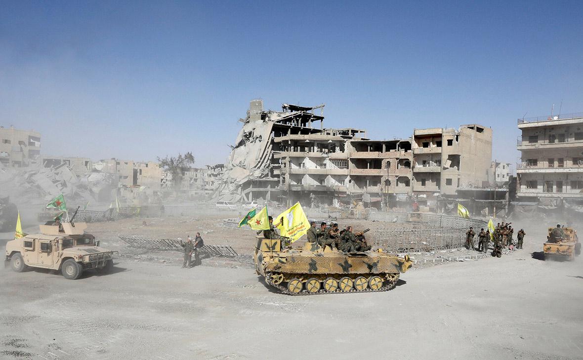 Сирийские курды объявили о полном освобождении Ракки от ИГ