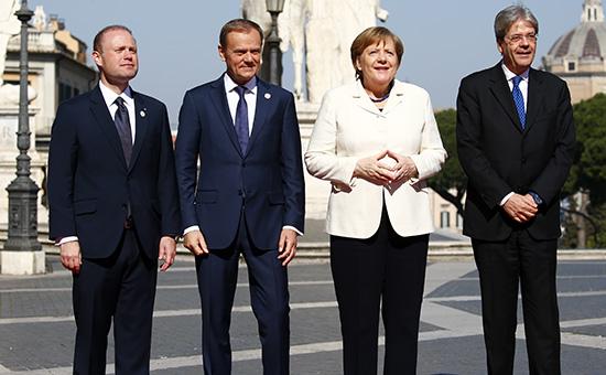 Страны ЕС подписали новую Римскую декларацию обудущем безБритании