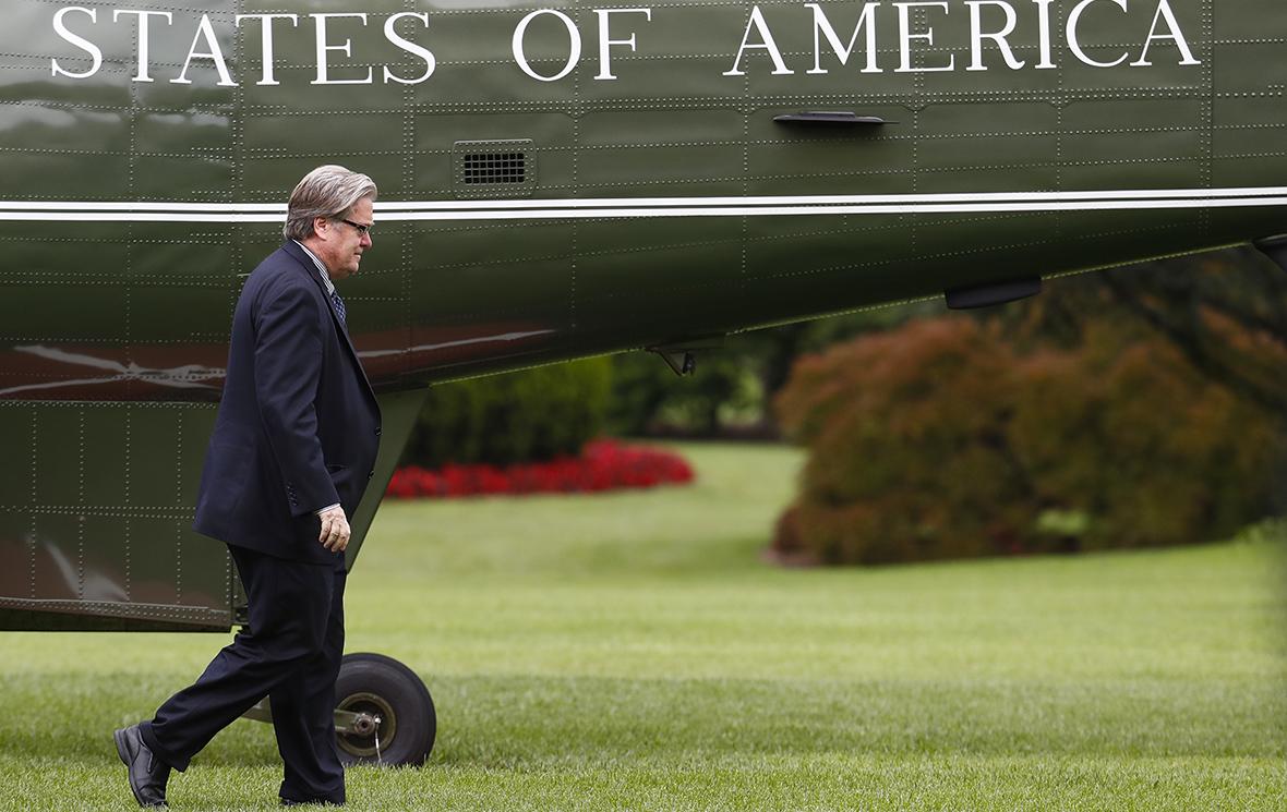 Трамп уволил главного стратега Белого дома