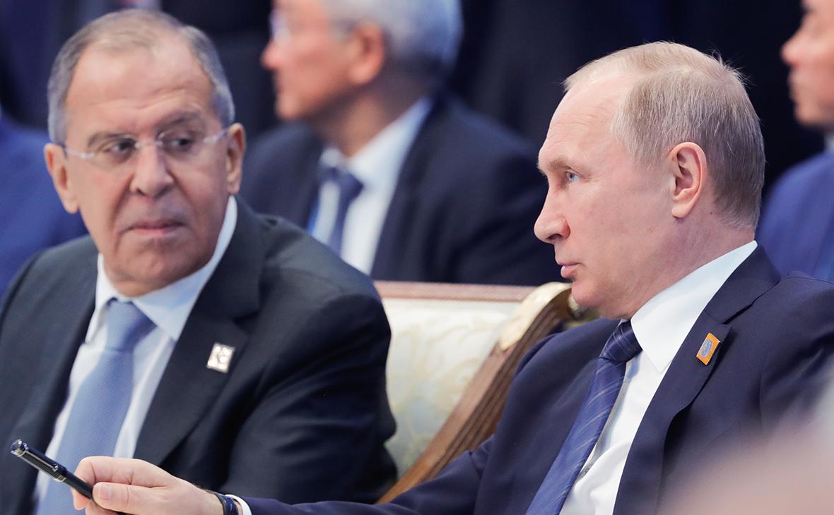 Лавров не исключил встречи Путина и Трампа в Гамбурге