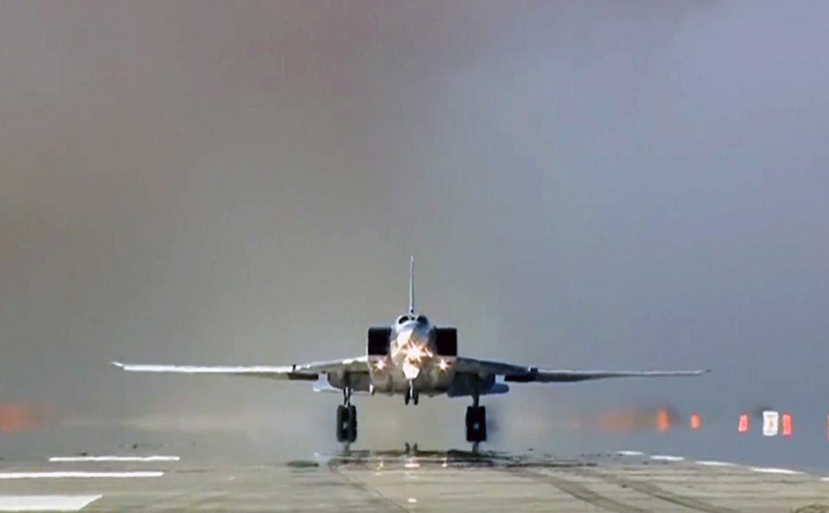 Минобороны отчиталось о новых ударах Ту-22М3 по террористам у Абу-Кемаля