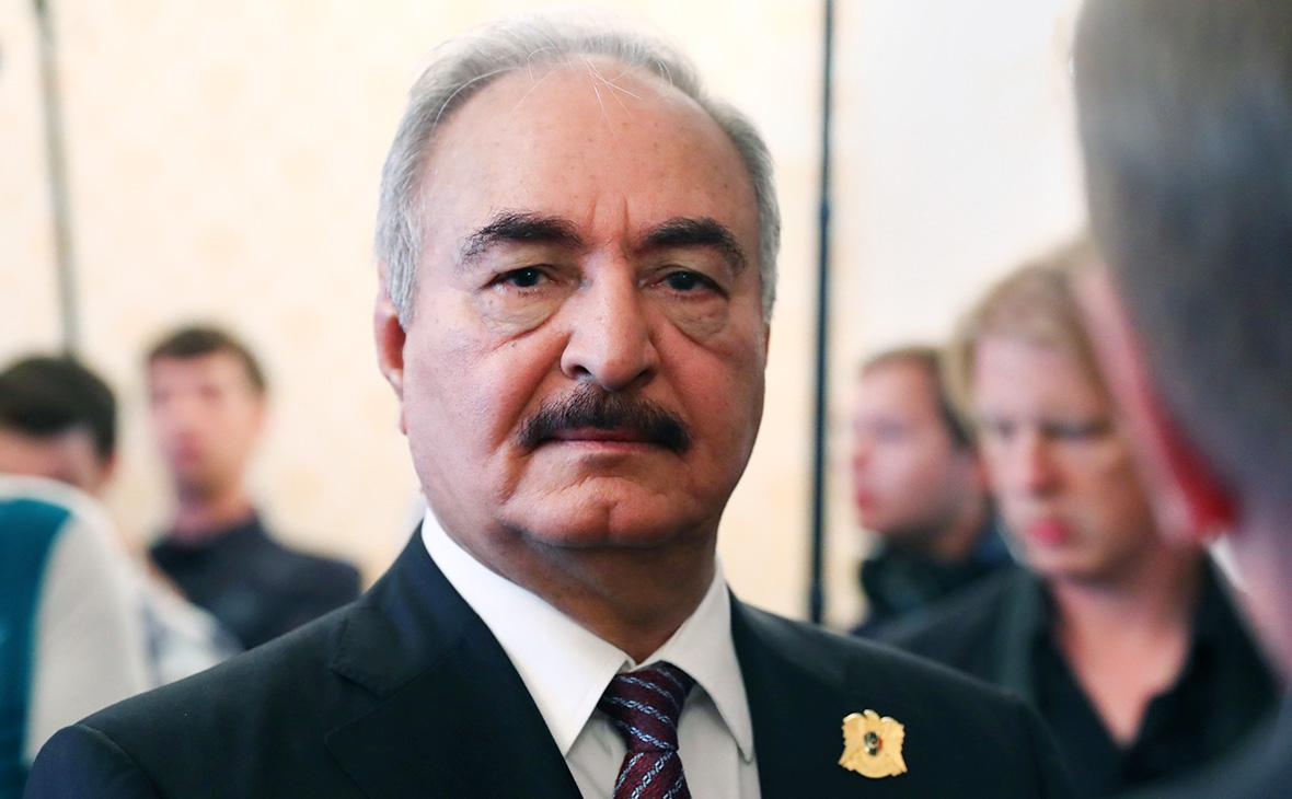 Фельдмаршал Хафтар улетел с московских переговоров без перемирия