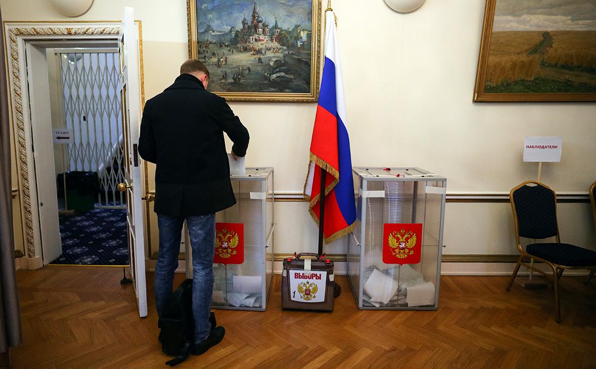 Путин собрал свыше 84% голосов на выборах за границами России