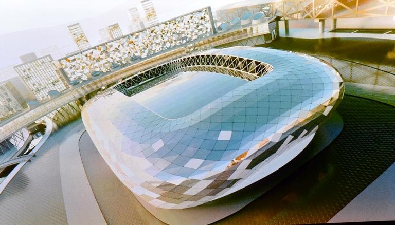 Фото: в Новосибирске может появиться аналог лучшей ледовой арены страны