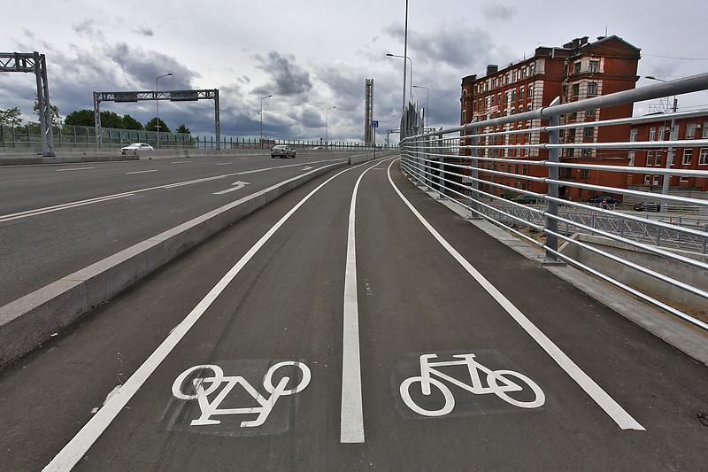 Петербургу обещают масштабное строительство велодорожек
