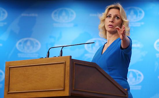 Захарова назвала манипуляцией планы дать площади вСША имя Бориса Немцова