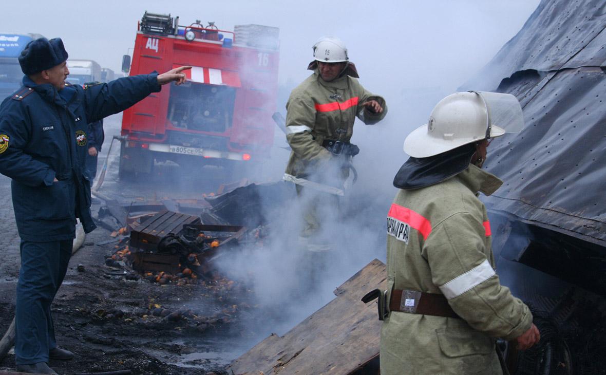 При возгорании автобуса в Казахстане погибли более 50 человек