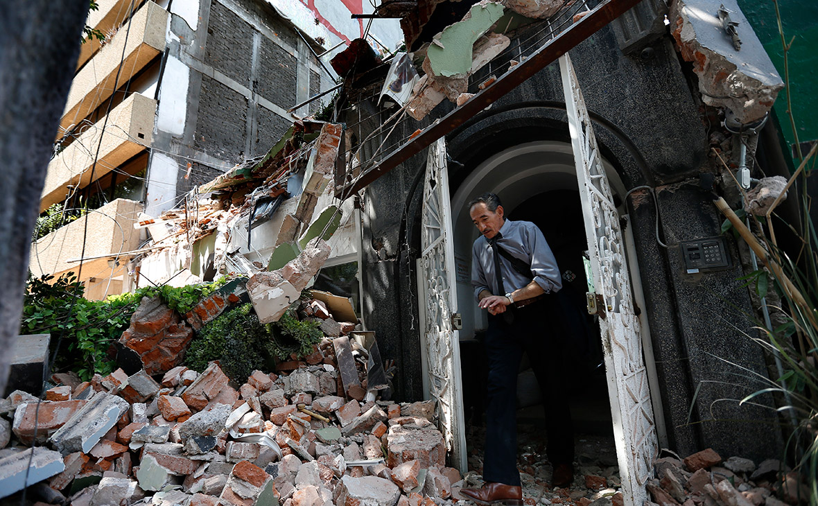 Российские туристы рассказали о землетрясении в Мексике