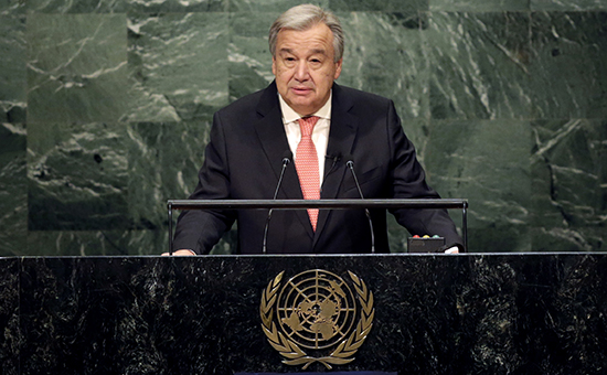 Генсек ООН объявил о нехватке $4,4 млрд для спасения 20 млн человек