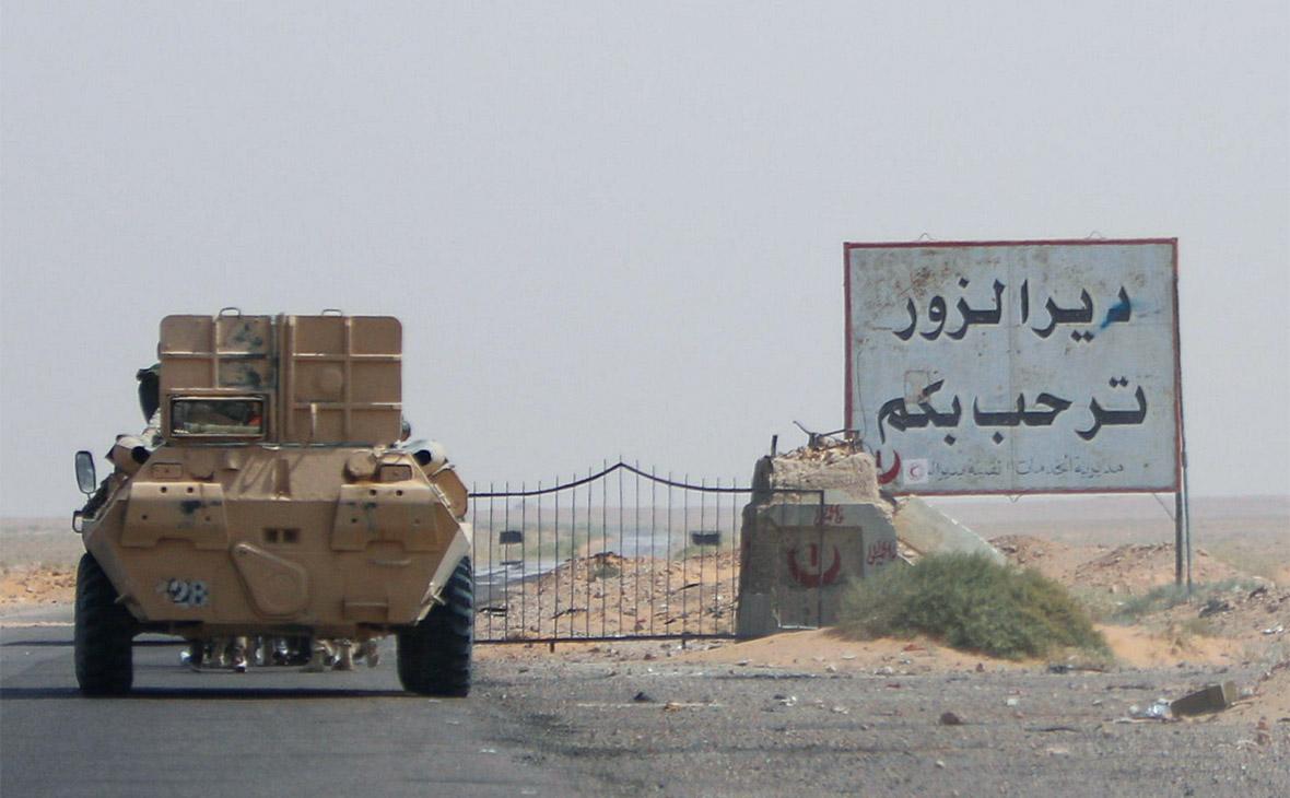 Сирийские курды заявили о контроле над крупнейшим нефтяным полем страны