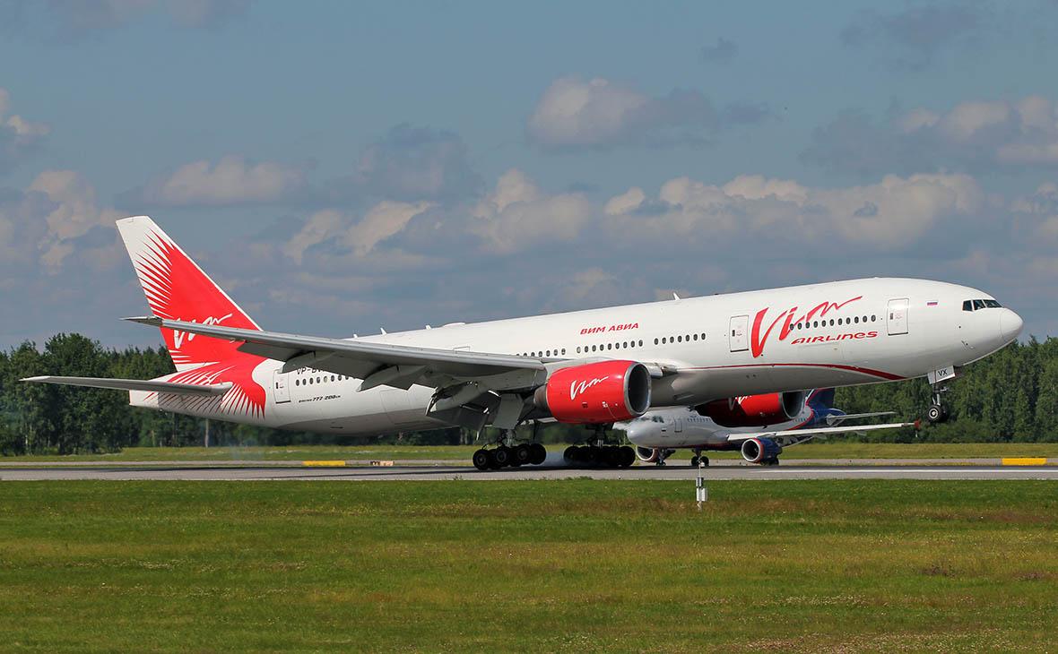 Авиакомпания «ВИМ-Авиа» прекратила полеты чартерных рейсов