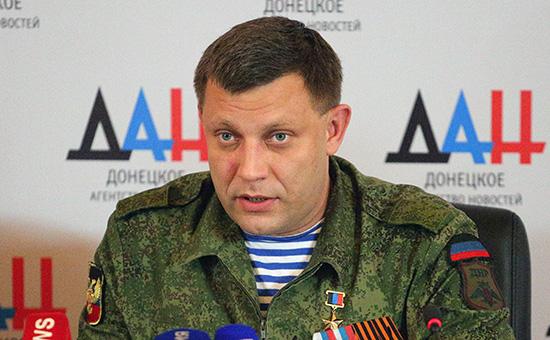 Кремль объяснил слова Захарченко овзятии Донбасса «эмоциональным фоном»