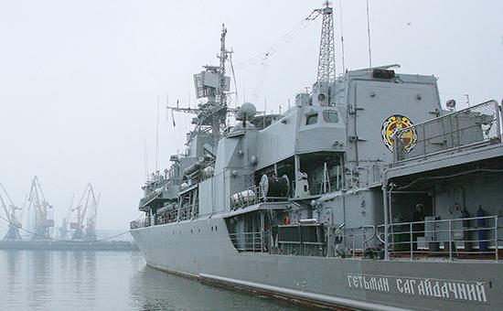 Двигатель флагмана ВМС Украины сломался сразу послеремонта