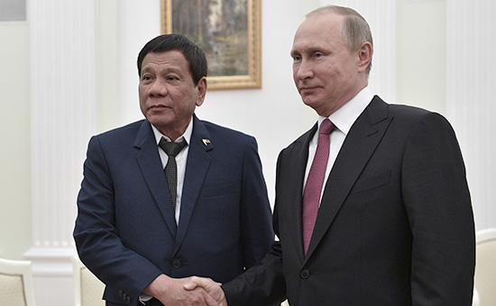 Почему глава Филиппин Дутерте прервал свой первый визит вМоскву
