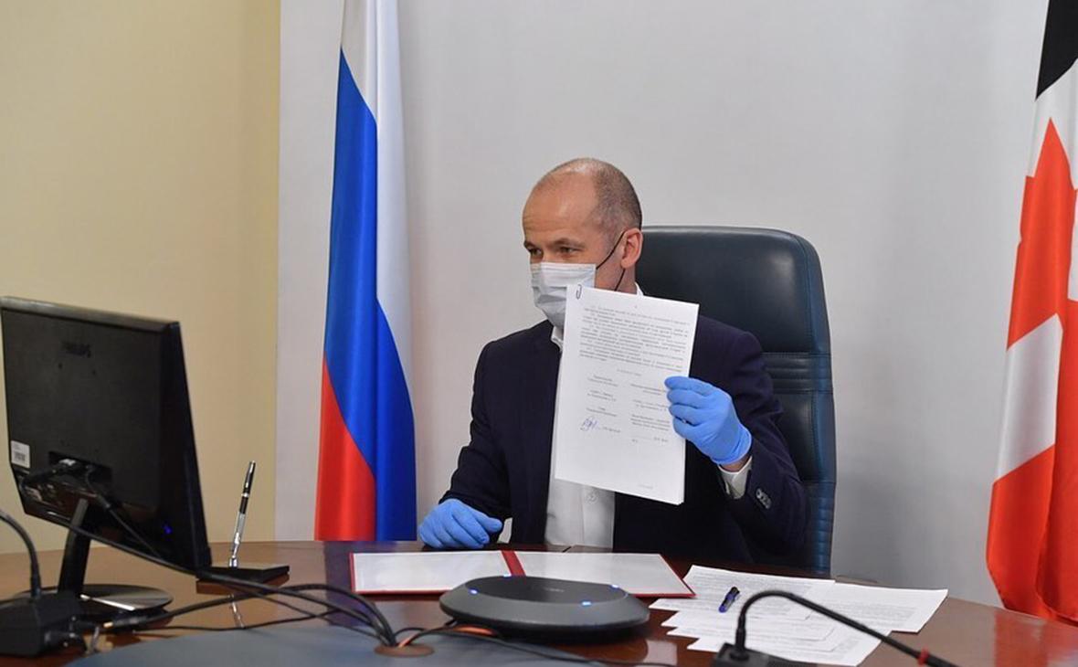 Глава Удмуртии Бречалов заразился коронавирусом