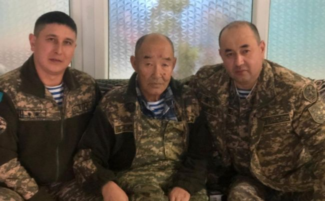 Умер ветеран войны в Афганистане Черный майор Керимбаев