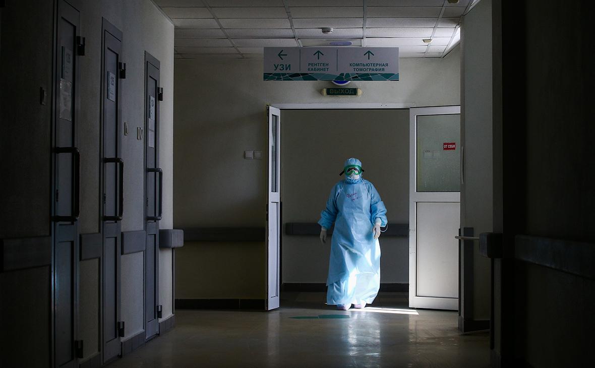 В России за сутки умерло рекордное число пациентов с коронавирусом