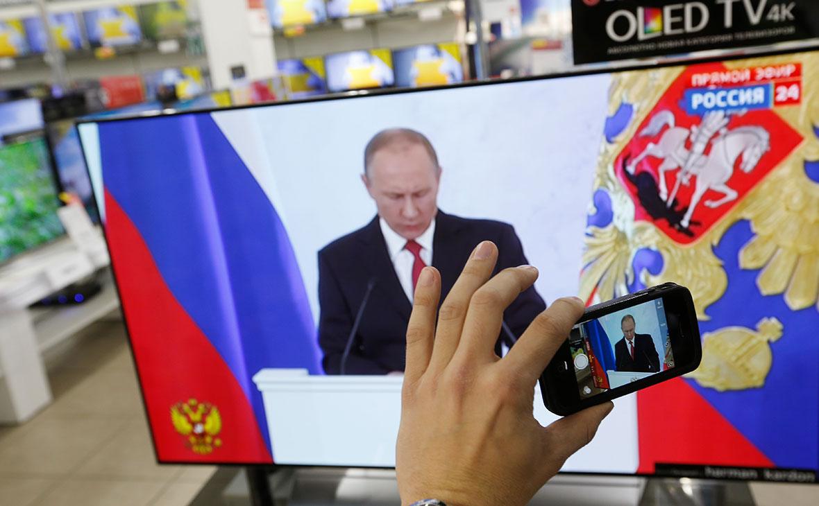 Стали известны темы агитационных роликов Путина для ТВ