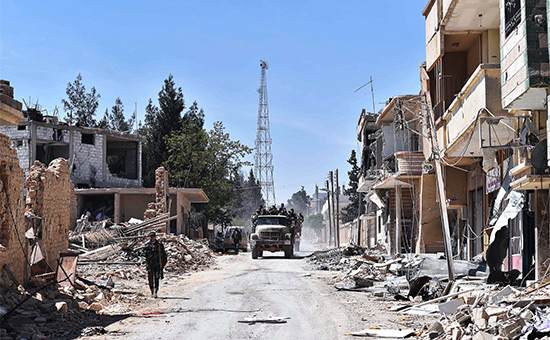 Россия предложила странам Запада оплатить восстановление Сирии