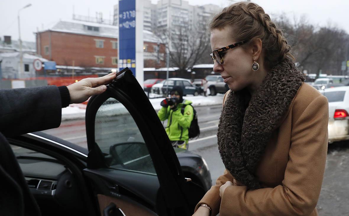Би-би-си рассказала о предвыборной поездке Собчак в США