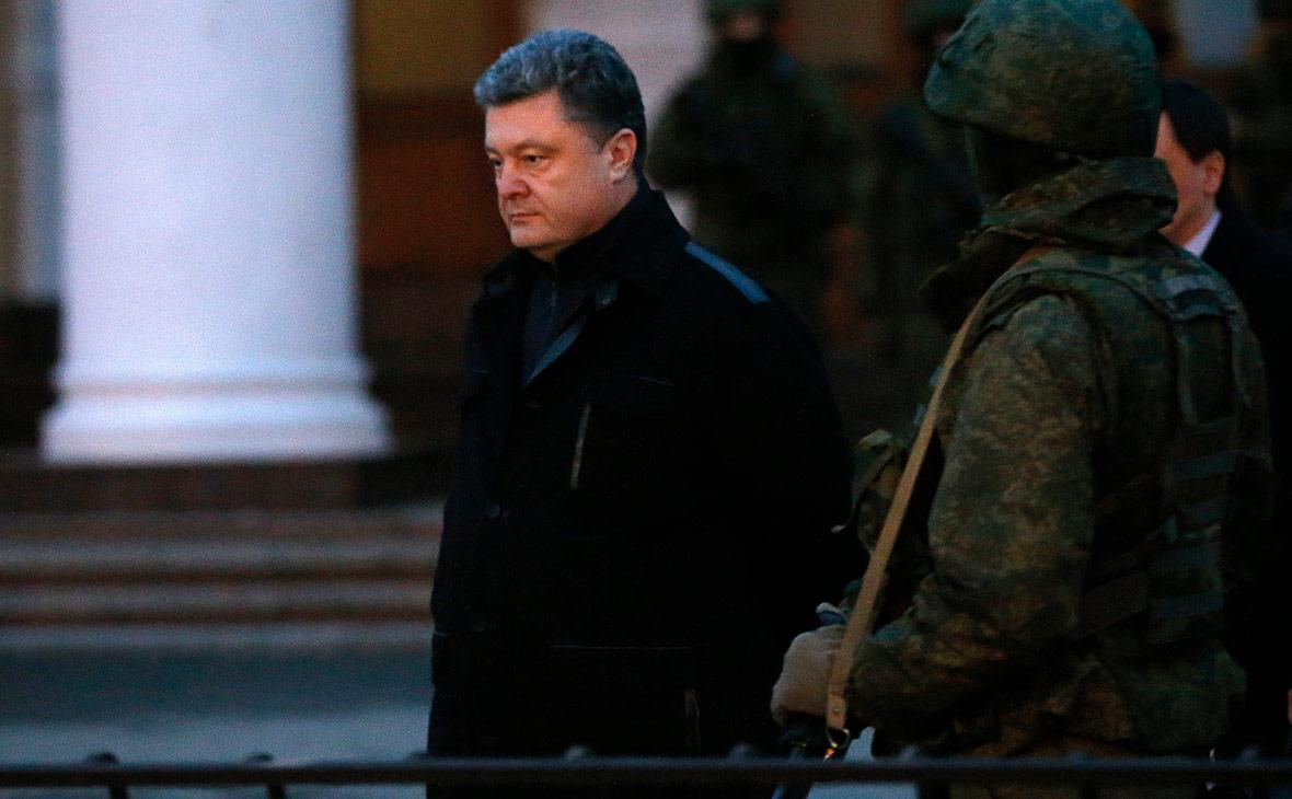 Порошенко рассказал об угрозе его жизни во время визита в Крым