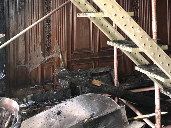Пожар в центре Петербурга стал причиной уголовного дела