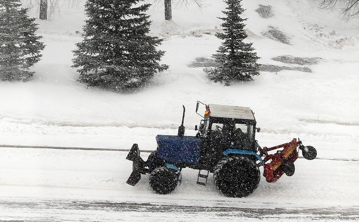 Уфа сможет привлечь на уборку снега лишь 47 единиц техники от предприятий