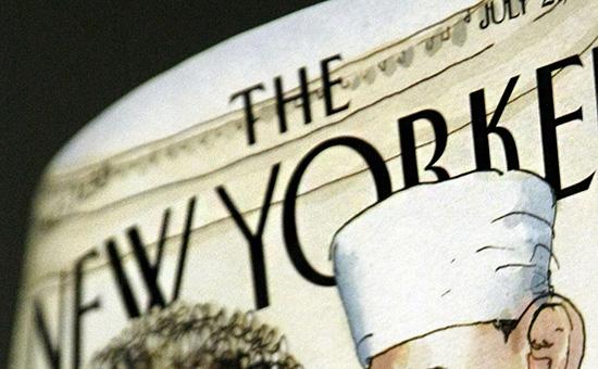 NewYorker анонсировал обложку сПутиным вмонокле