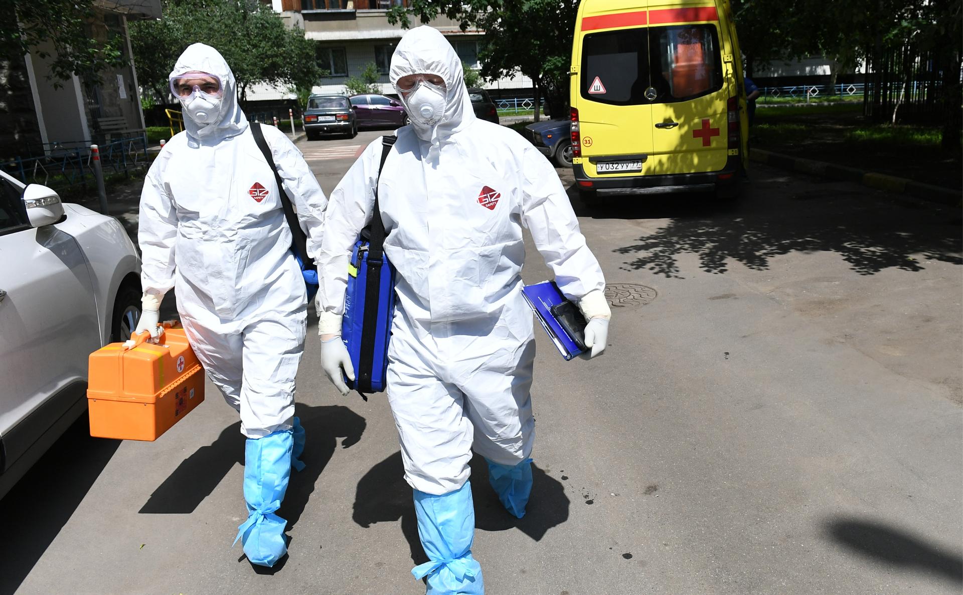Число умерших от коронавируса в Москве превысило 4 тыс. человек